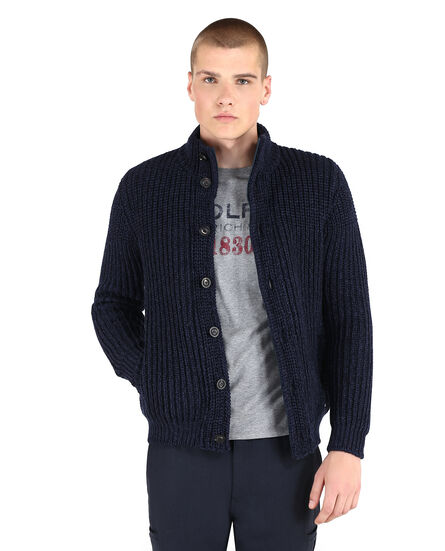 Mix Wool Track Jacket