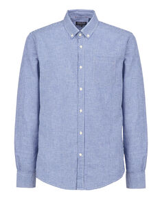 Button Down Shirt, MAZARINE BLUE C, hi-res