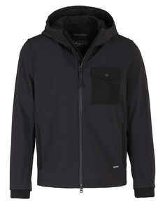 Soft Shell Rudder Jkt, BLACK, hi-res