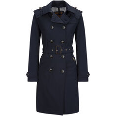 W'S Fayette Trench Coat, CLASSIC NAVY, hi-res