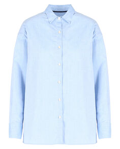 W'S Alpina Oxford Shirt, OXFORD BLUE, hi-res