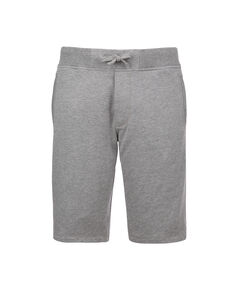 Basic Fleece Short, MEDIUM GREY MEL, hi-res