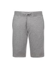 Basic Fleece Short, MEDIUM GREY MEL, hi-res