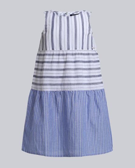 G'S Flame Cotton Long Dress