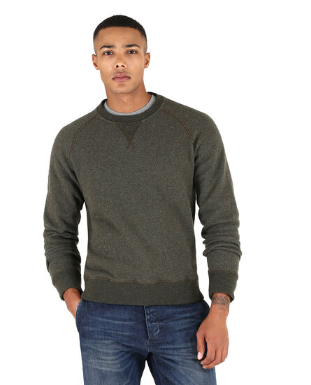 Wool Fleece Crew Neck