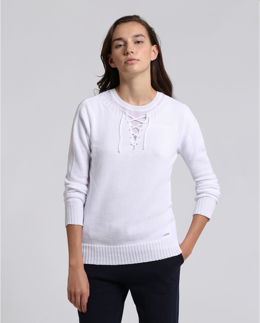 W'S Fine Cotton Sweater