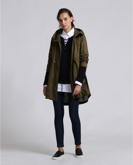 Over Parka Look