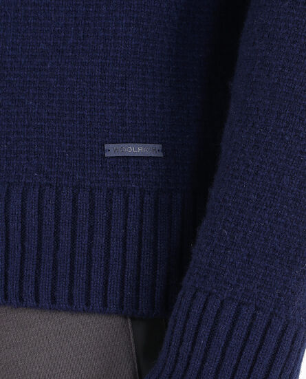 Jacquard Turtle Neck