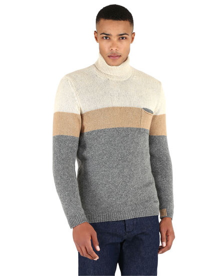 Mix Camel Turtle Neck