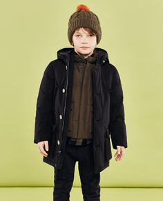 Boy's Arctic Parka no fur Look