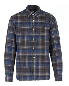 Melange Check Shirt