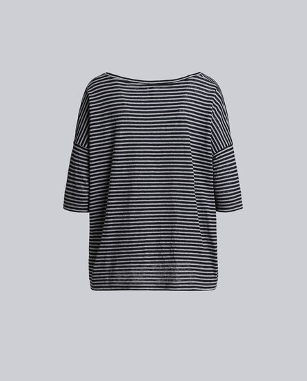 W'S Striped Over Tee