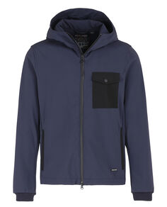 Soft Shell Rudder Jkt, CLASSIC NAVY, hi-res