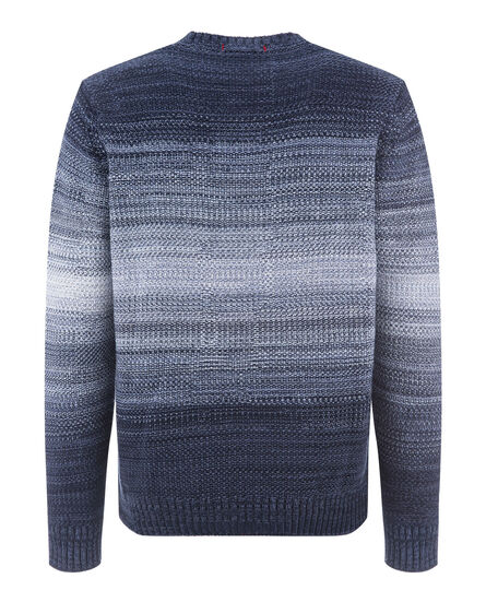 Fantasy Indigo Look Crew Neck, INDIGO, hi-res
