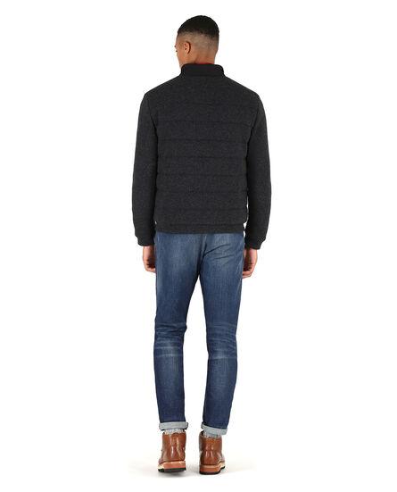 Wool Cotton Track Jacket