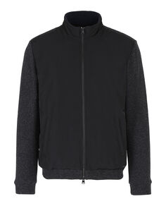 Wool Cotton Track Jacket