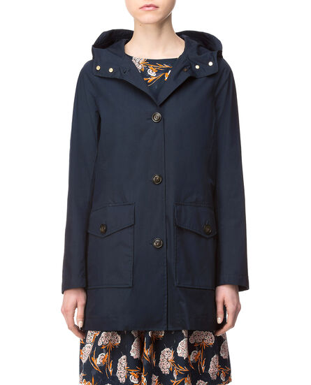 W'S Summer Parka Hc, DARK NAVY, hi-res