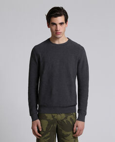 Slub Cotton Linen Sweater