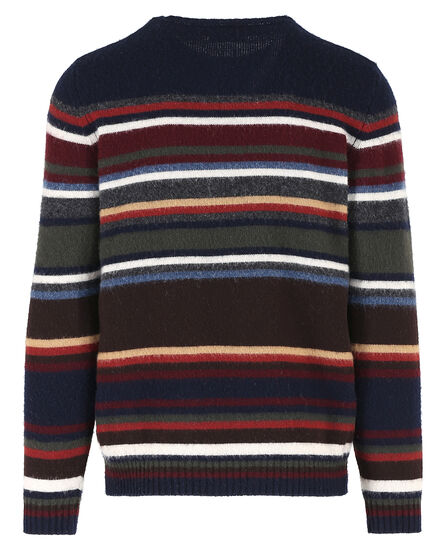Striped Wool Crew