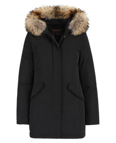 W'S Luxury Arctic Parka, BLACK, hi-res