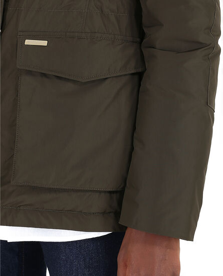 W'S Short Military Parka