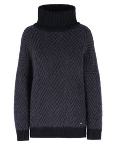 W'S Wool Mohair Turtle Neck