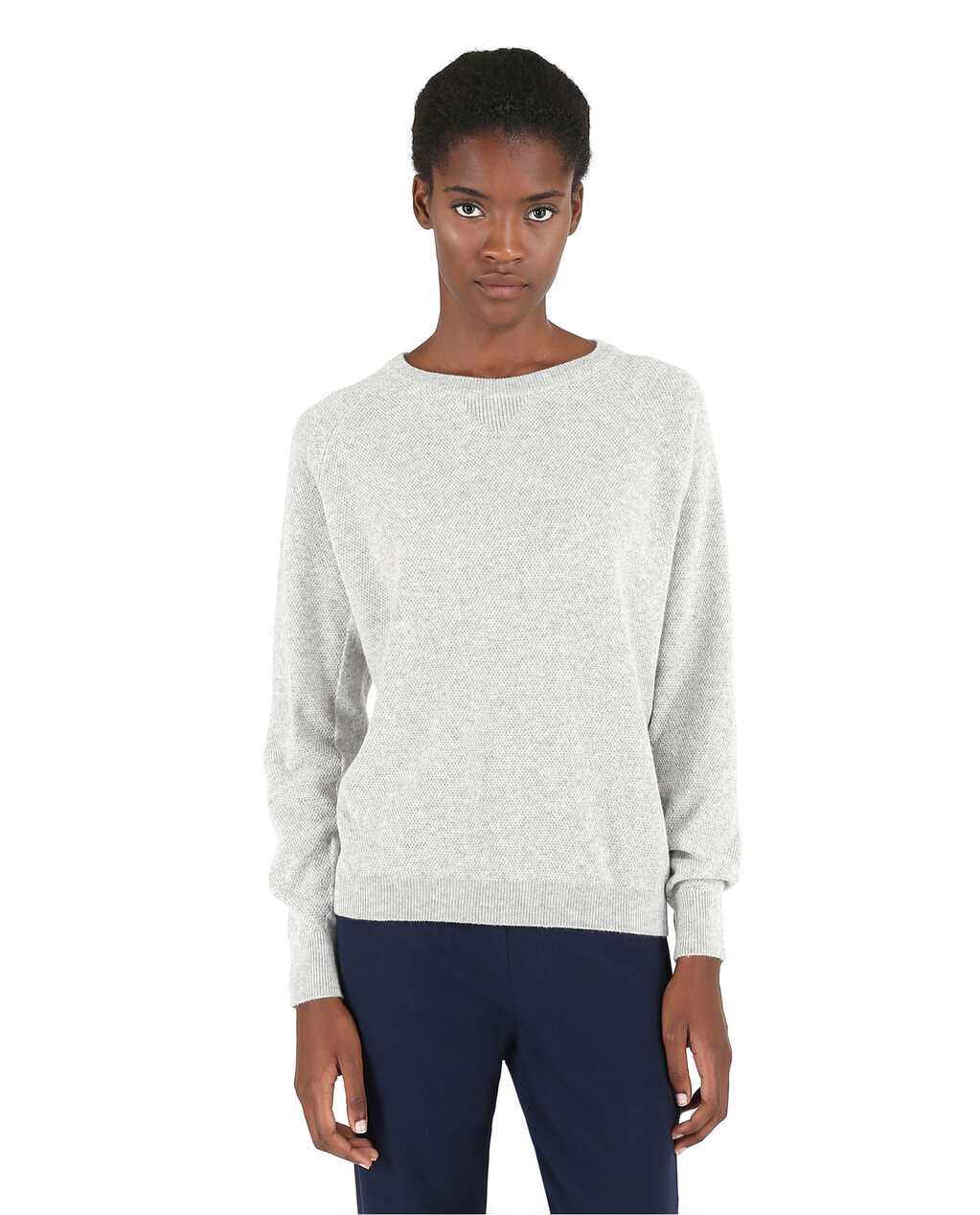 W'S Cashmere Stitches Sweater