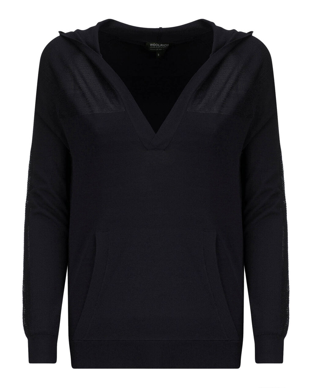 W'S Crepe Viscose Hoodie, NIGHT SKY, hi-res