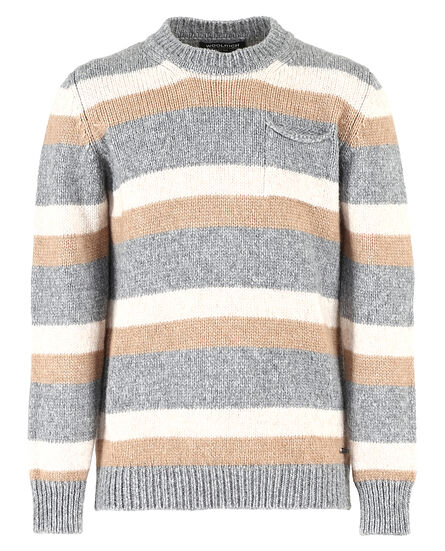 B'S Stripe Sweater