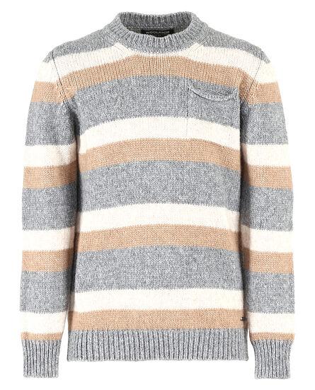 B'S Stripe Sweater