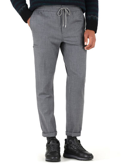Cargo Comfort Pant, MEDIUM GREY MEL, hi-res