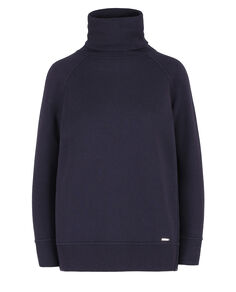 W'S Comfort Fleece Turtle Neck, MELTON BLUE, hi-res