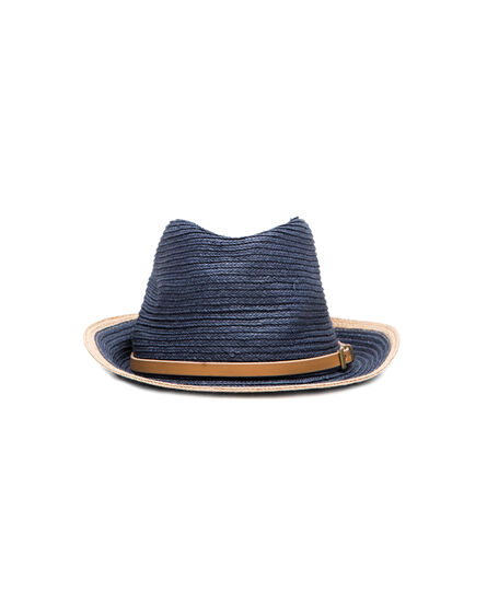 W'S Classic Straw Panama Hat, MOOD INDIGO, hi-res