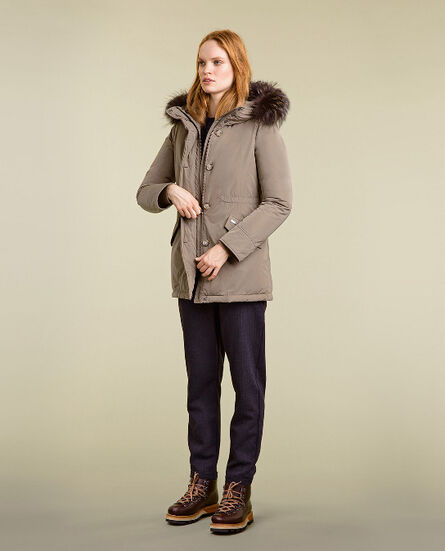 City Arctic Parka high collar Look
