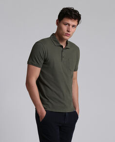 Mixed Linen Polo