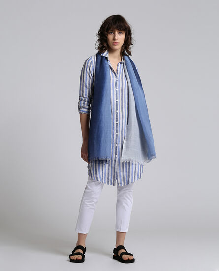 W'S Striped Scarf