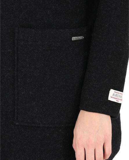 W'S Felted  Wool Coat