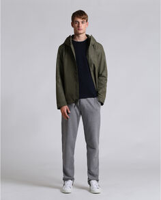 Atlantic Camou Jacket Look