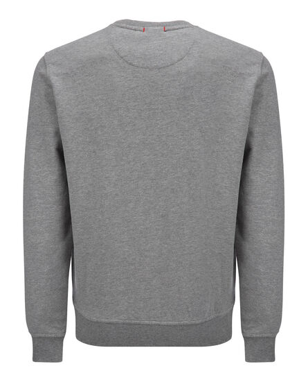 Logo Crew Neck, MEDIUM GREY MEL, hi-res