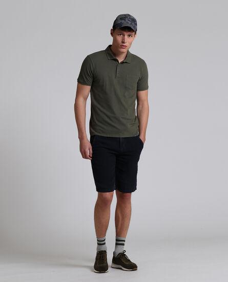 Mixed Linen Polo