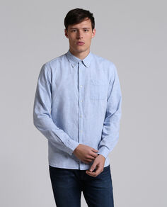 Oxford Linen Shirt