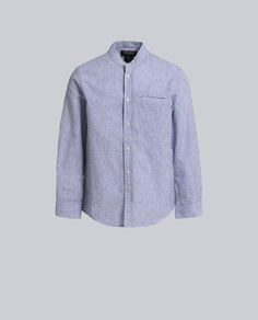 B'S Cotton Linen Shirt