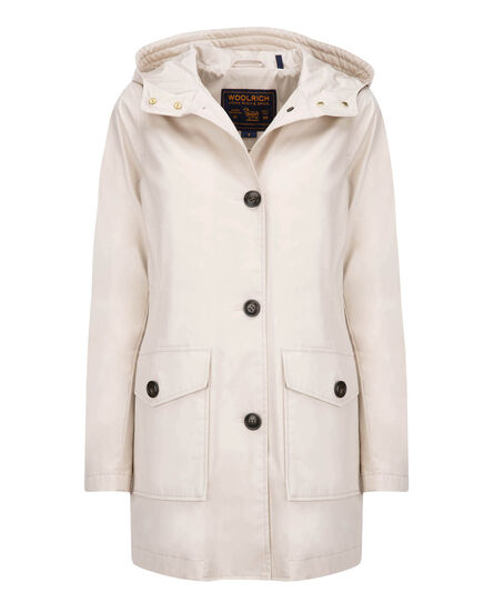 W'S Summer Parka Hc, WHITECAPE BEIGE, hi-res