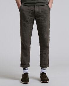 Raw Linen Pant
