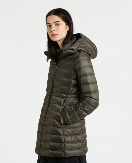 W'S Long Military Parka