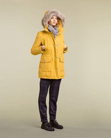 Arctic Parka high collar Look