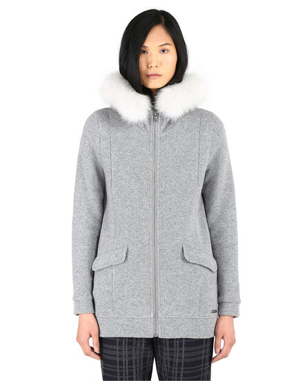 W'S Wool Cotton Jacket