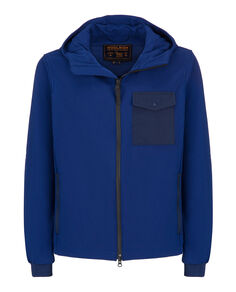 Soft Shell Rudder Jkt, TWILIGHT BLUE, hi-res