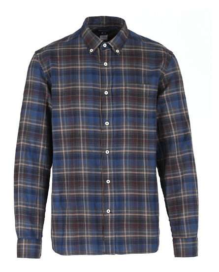 Melange Check Shirt