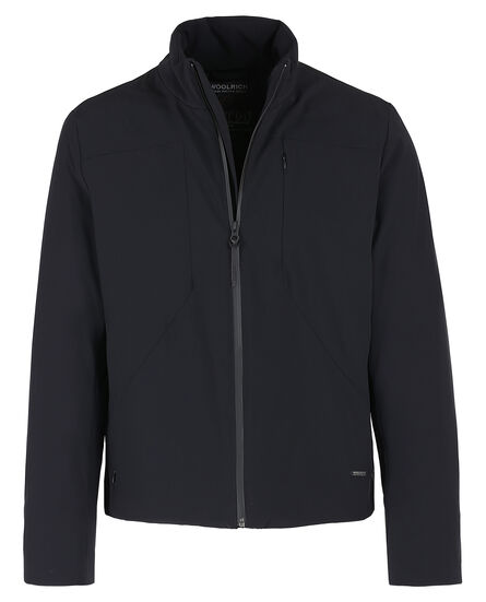 Stretch Track Jkt, BLACK, hi-res